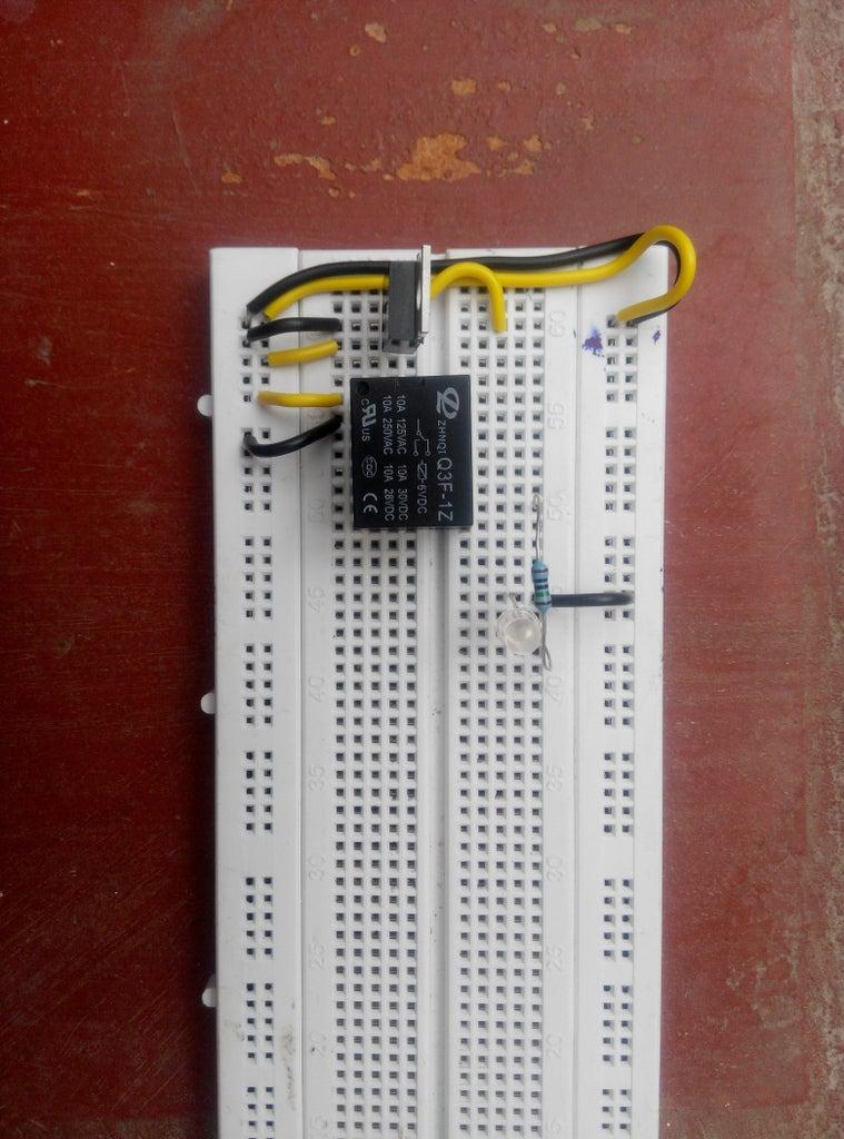 Connecting Indicator LED