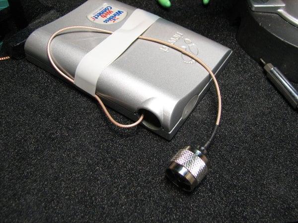 Mod a Ricochet Radio Modem to Take an External Antenna