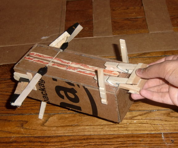 Paper Airplane Crossbow Launcher