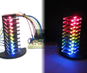 迷你LED容量塔(VU米)