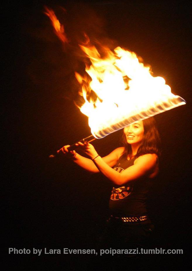 Fire Dancing Sword