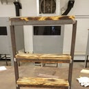 Small Rustic Utility Shelf