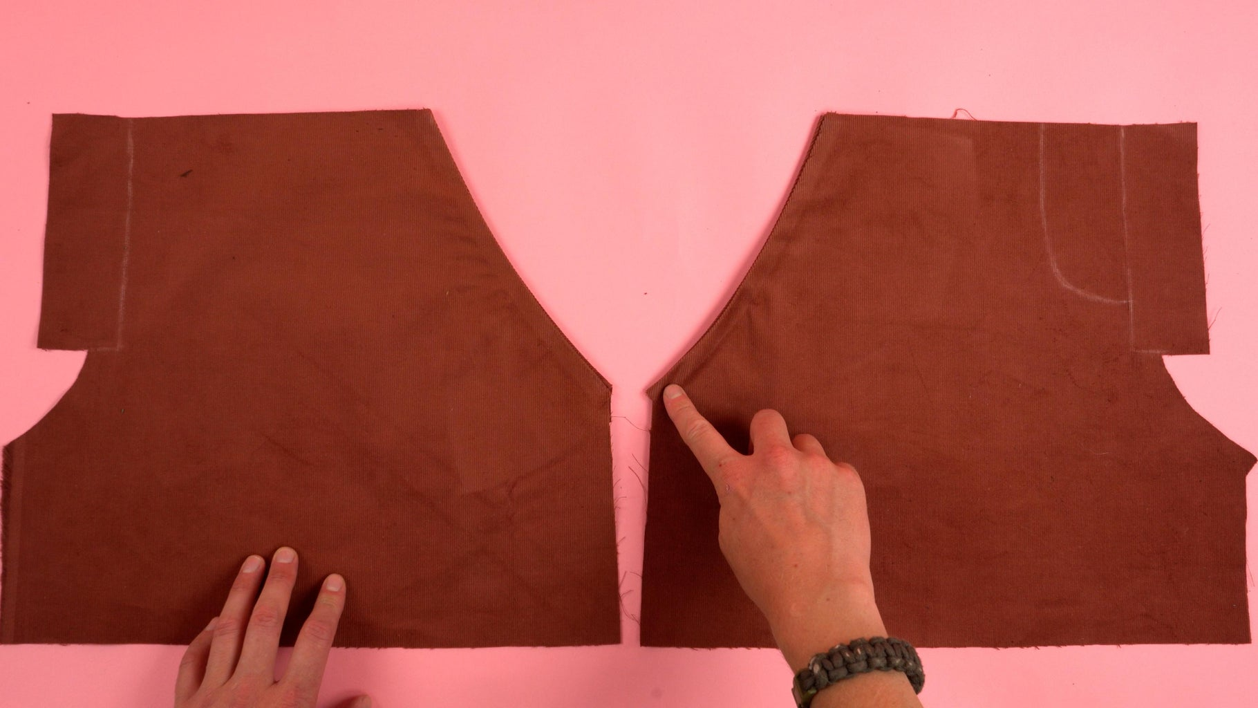 Topstitch Pocket Opening