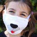 Dog Muzzle Face Mask