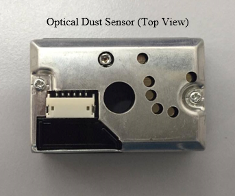How to interface with Optical Dust Sensor