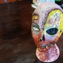 Zombie manneqiun head