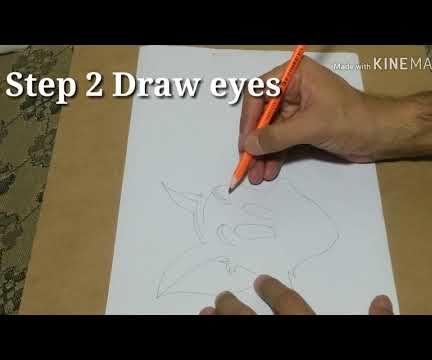 Draw Tom Cat Step by Step