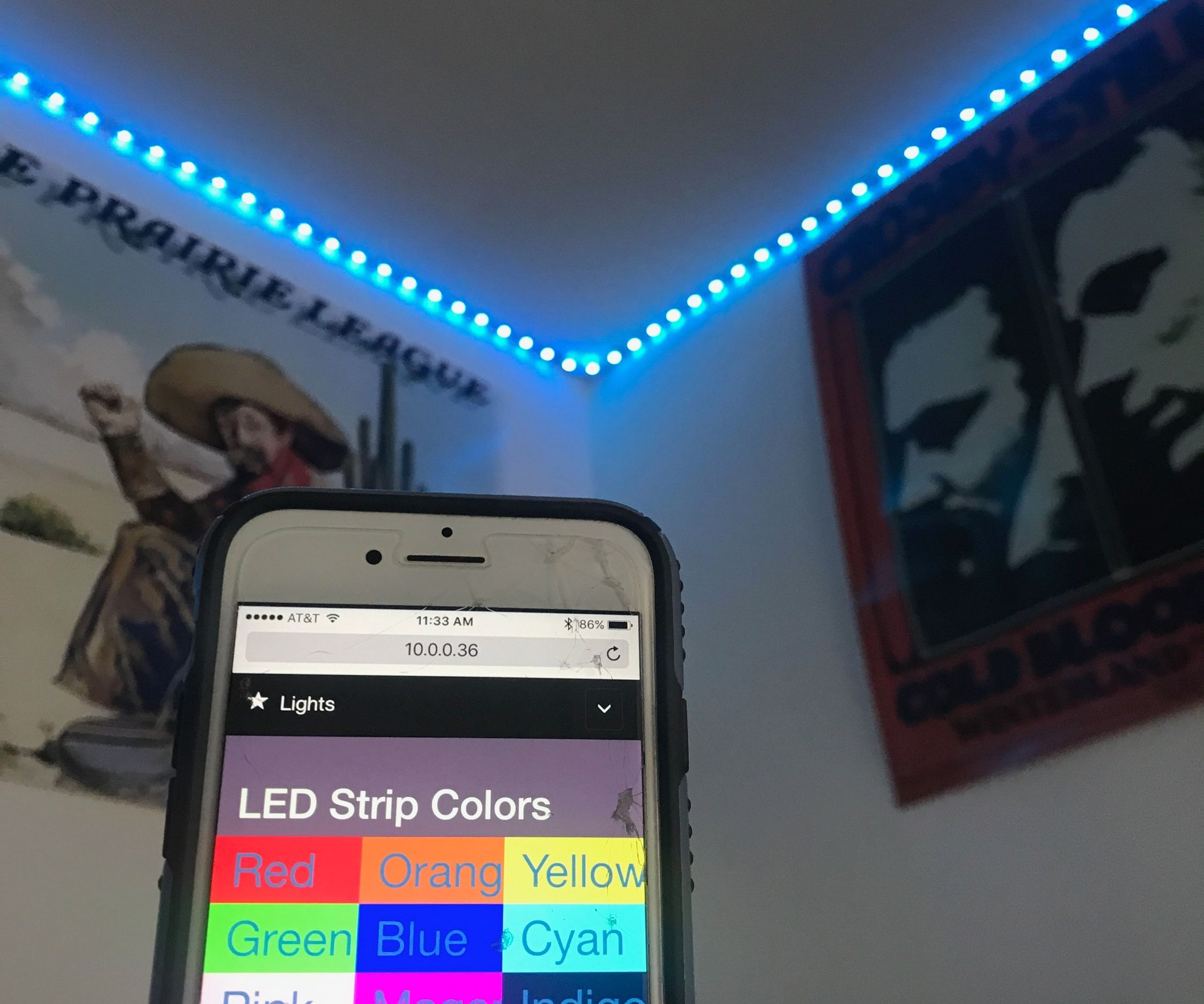 Back to School LED Strip Automation
