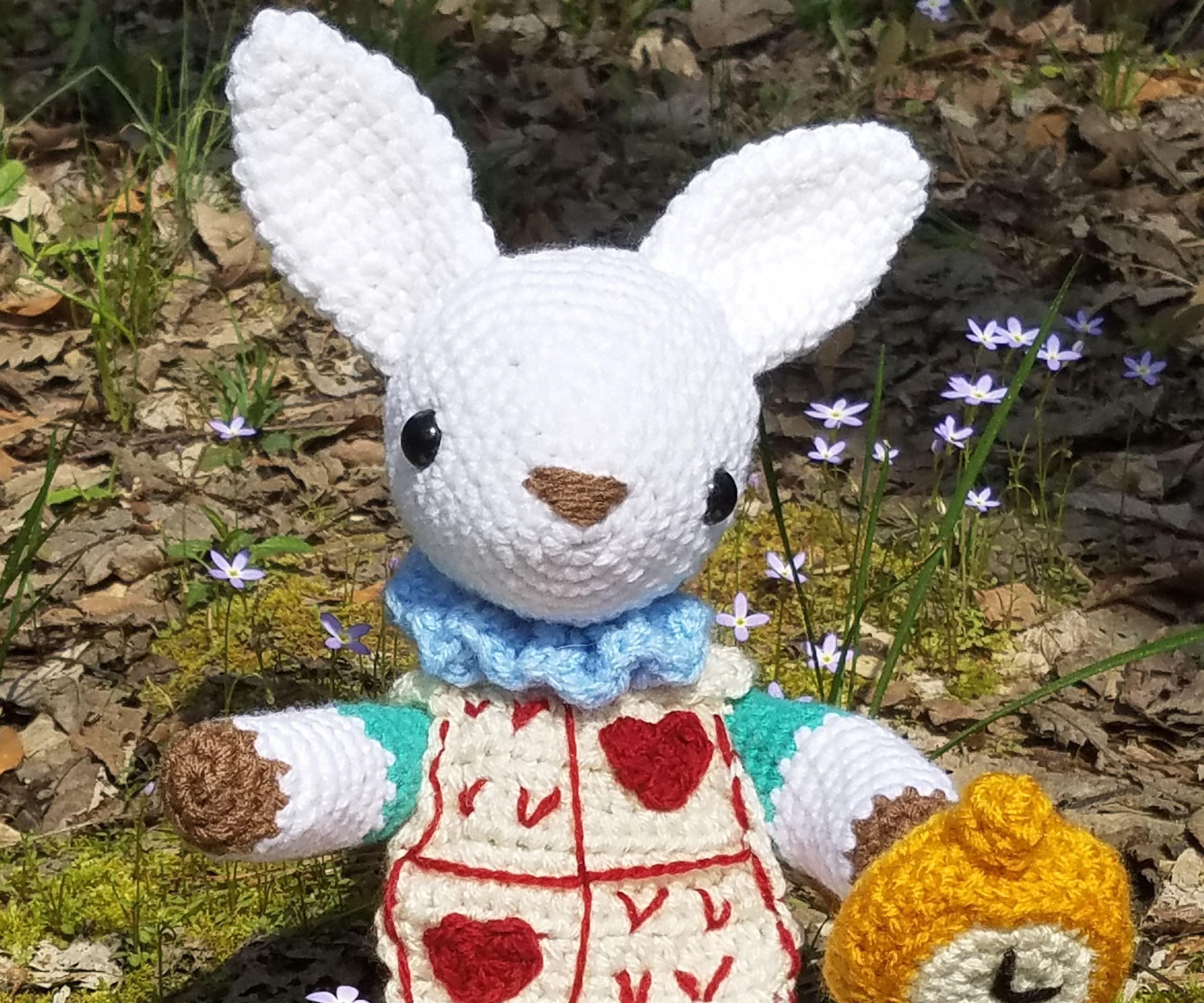 Crochet White Rabbit