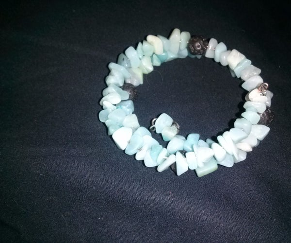 Making a Diffuser Bracelet for  Aroma Therapy Oils