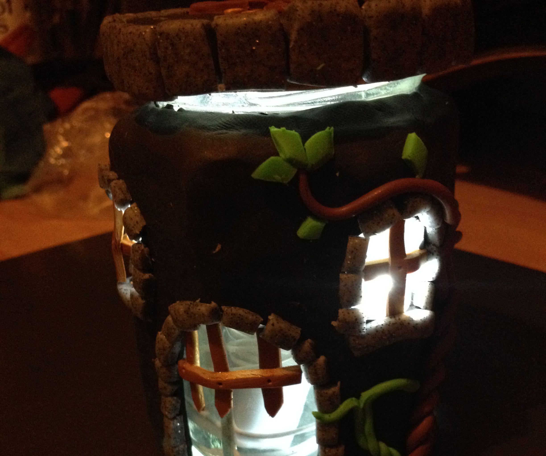 Jam Jar Night Light (Castle)
