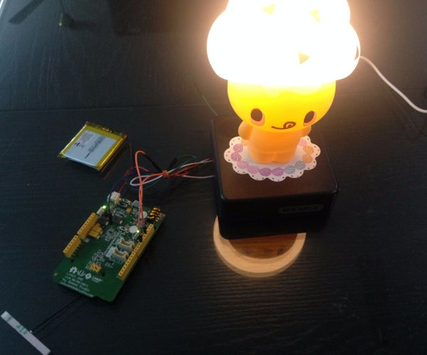 Turn a Lamp Into a Smart Lamp With LinkitONE