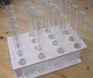Simple Test Tube Rack