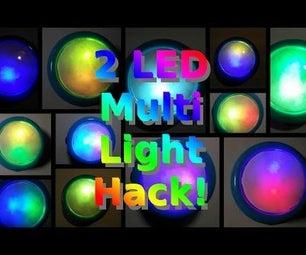 2 LED Multi Light Hack.