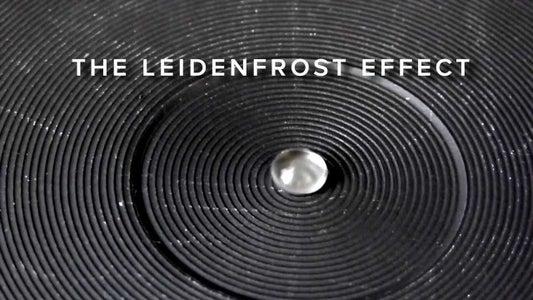 Het Leidenfrost-Effect - Een Demonstratie