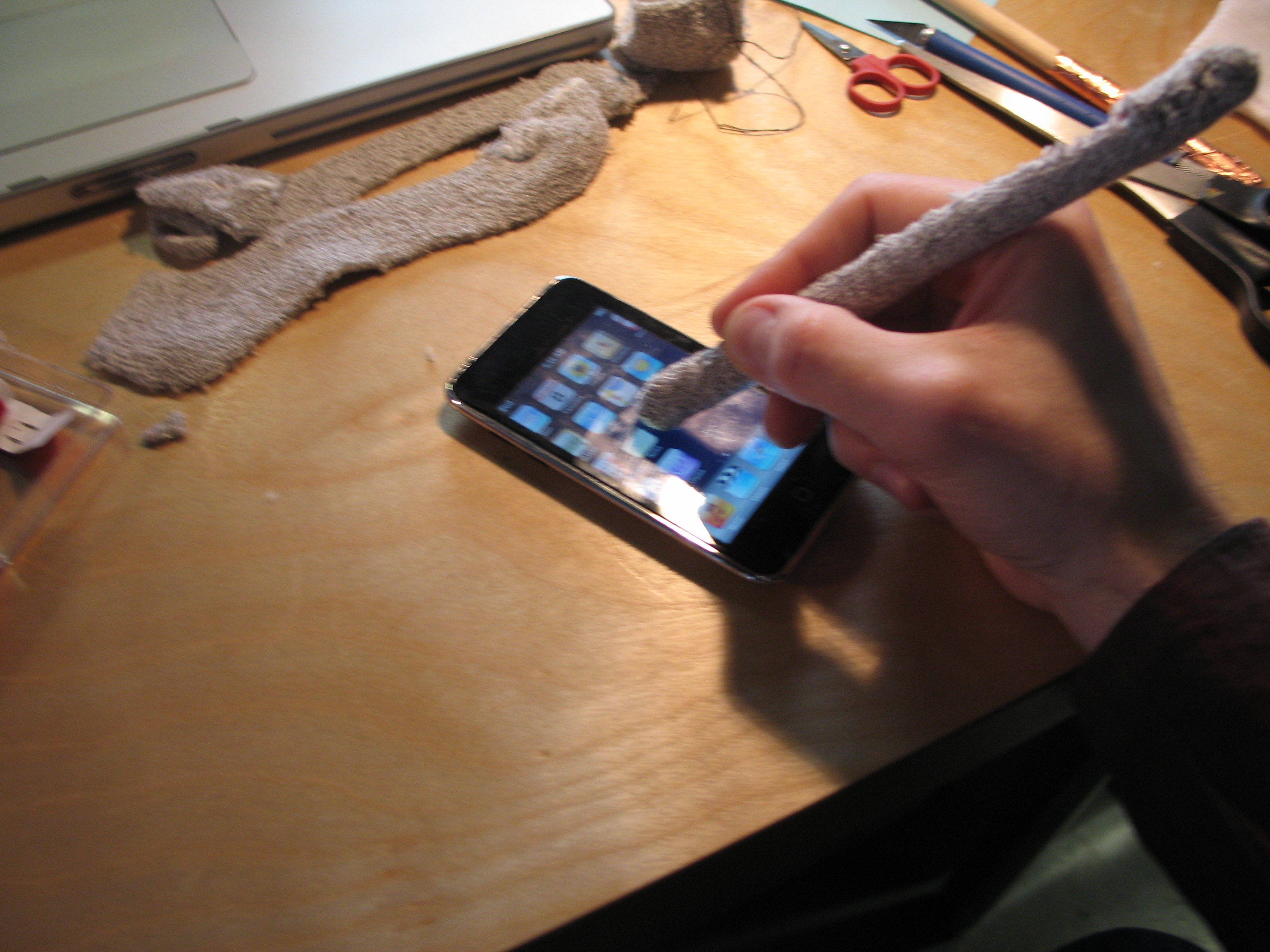 Soft iPhone and iPad Stylus