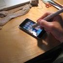 Soft iPhone and iPad Stylus