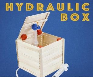 Hydraulic Craft Stick Box