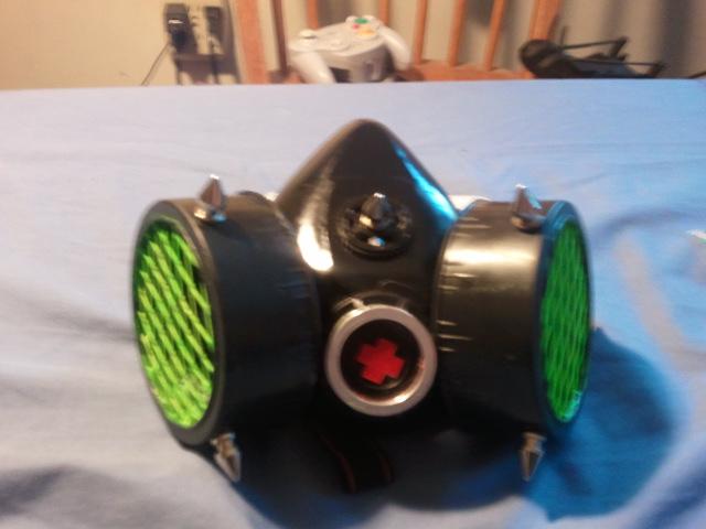 led uv gas mask