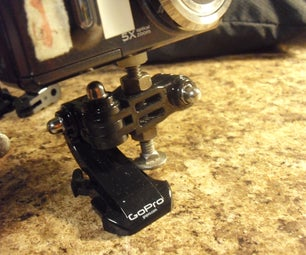 Normal Camera Mount for GoPro Accessories
