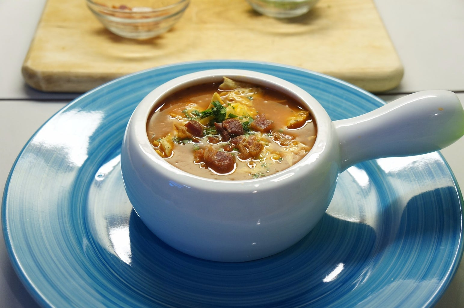 A Little or a Lot Spicy Chicken Soup for Everyone's Palate