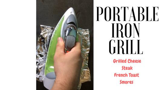 Portable Iron Grill