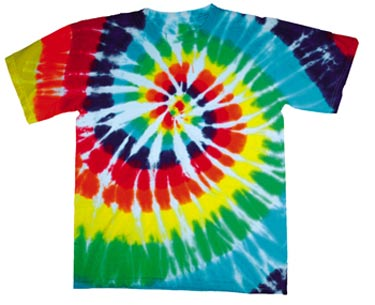 How to Tie Dye a T-Shirt