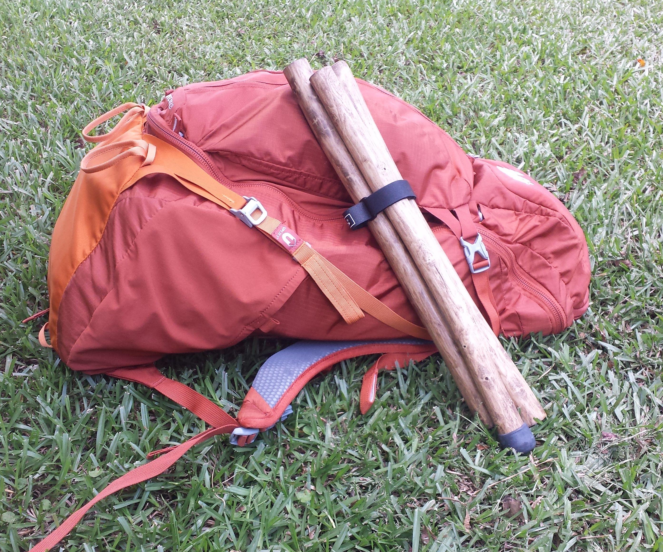 Compact walking stick