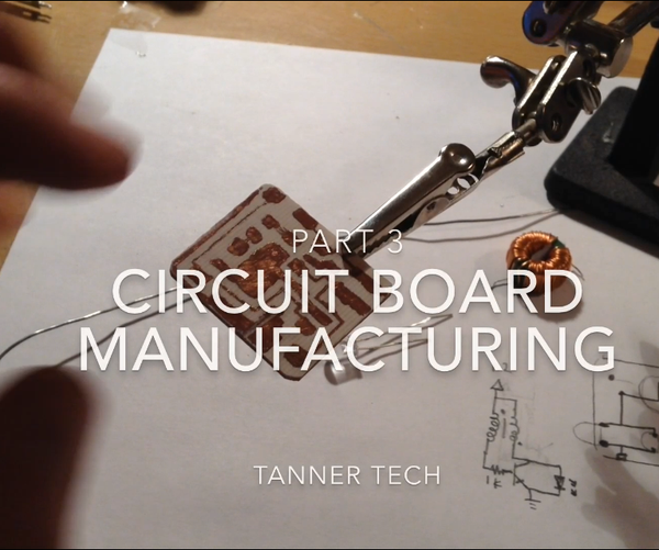 Circuit Board Manufacturing Without a Computer Part 3: Surface Mount Soldering