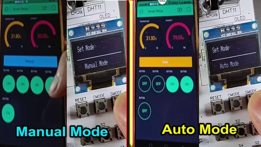 Different Mode of the Smart Relay Module