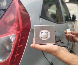 Vehicle Parking Alarm System Using PIR Sensor- DIY