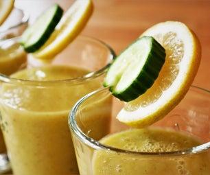 Detox Lemon Cucumber Smoothie