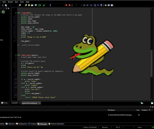 Python With PyScripter