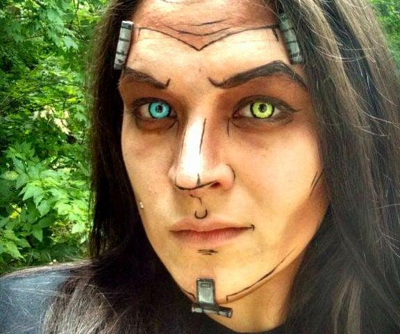 Borderlands Makeup