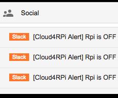 Forward Gmail Alerts to Slack