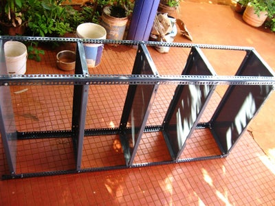 Attach Middle Shelving Plates