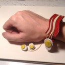 BACON!! and Egg Bracelet