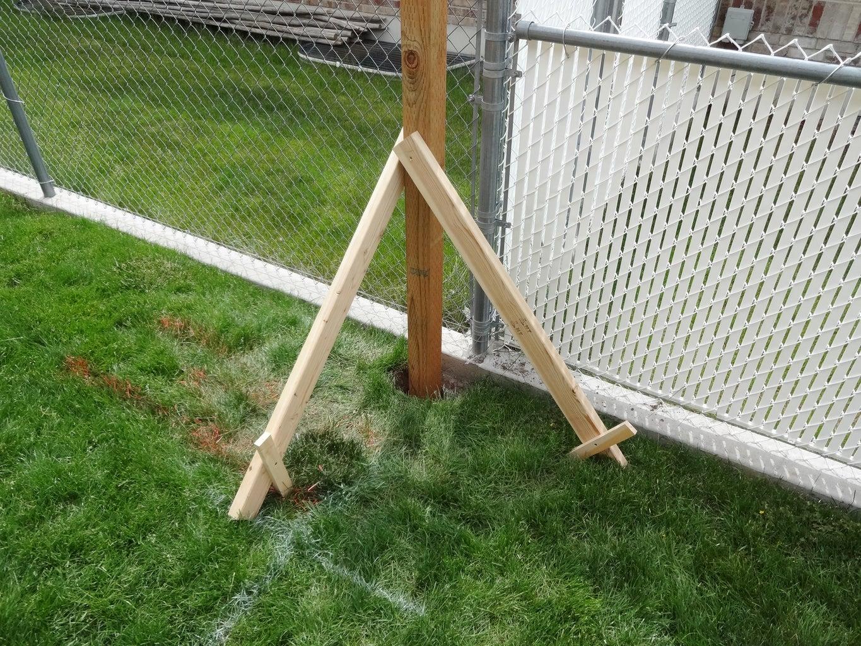 Dig Holes, Plumb Posts