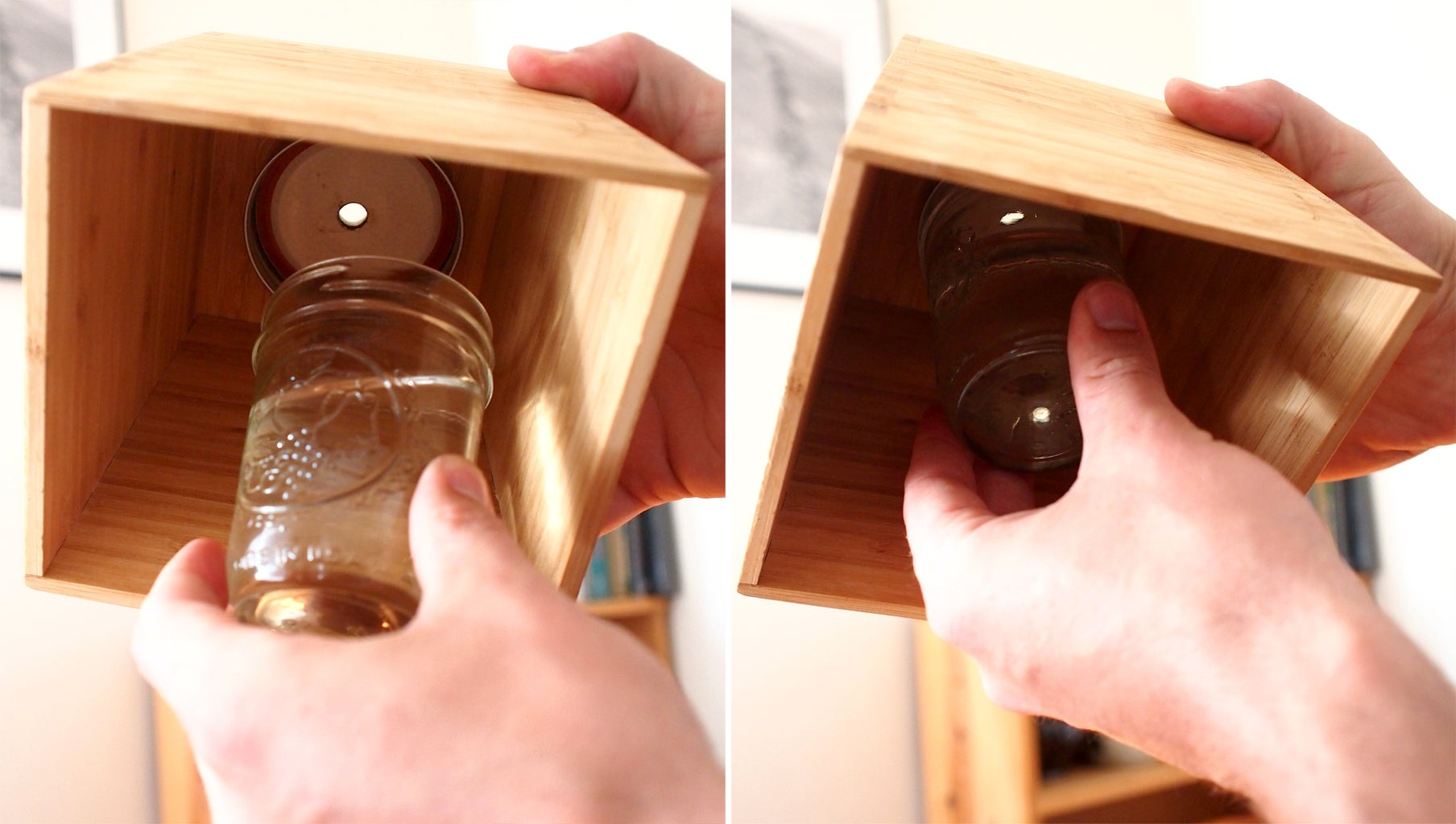 Fill Jar With Water