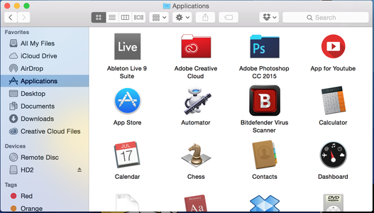 What Apps and Folders Do You Want?