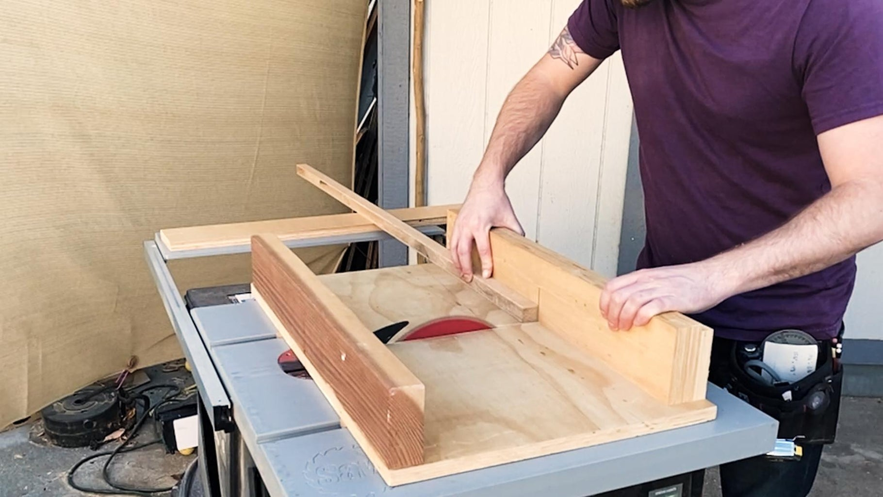 Cut the Frame Pieces to Length