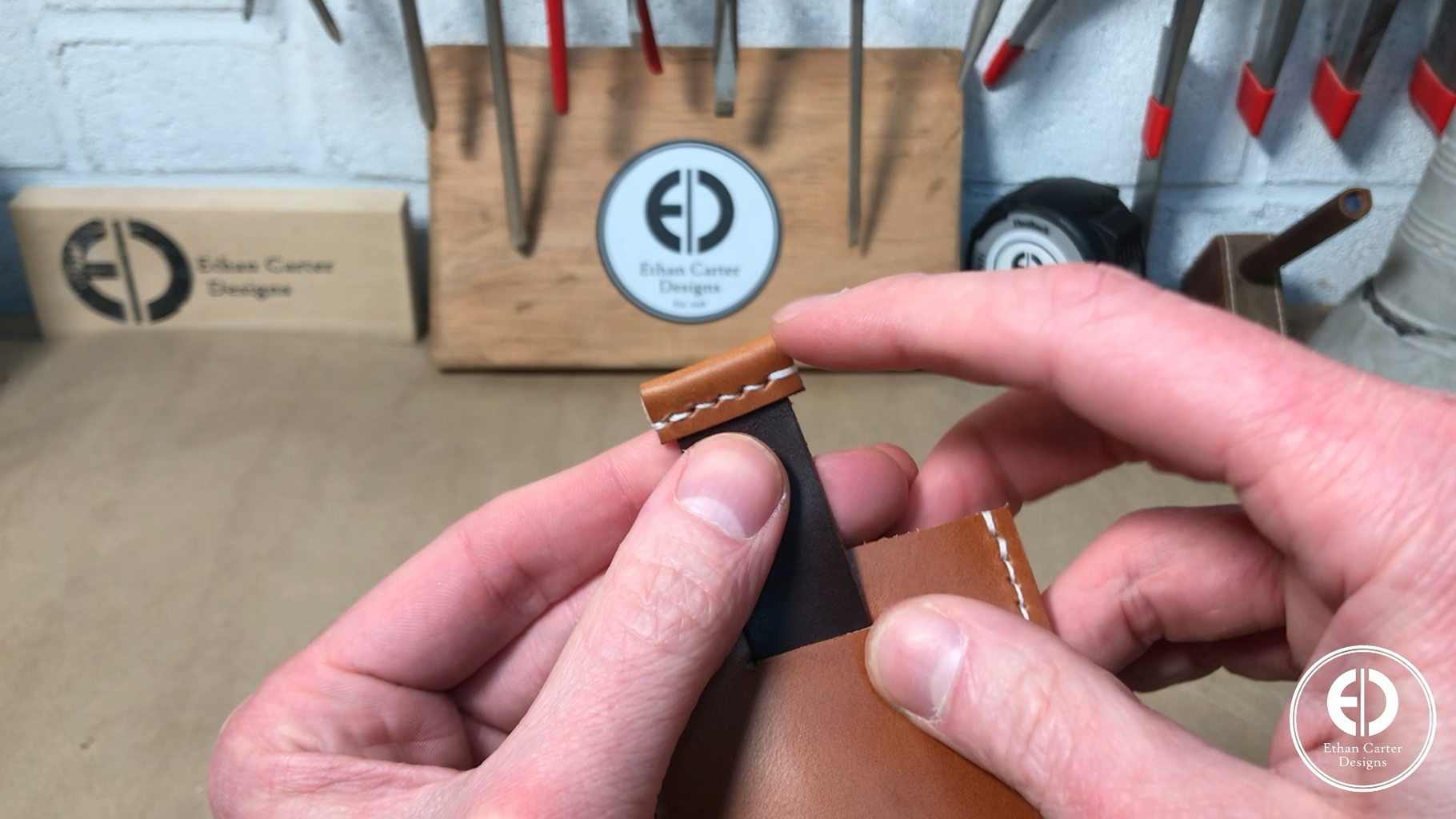 Cutting the Pull Tab Slot & Attaching the Front & Back