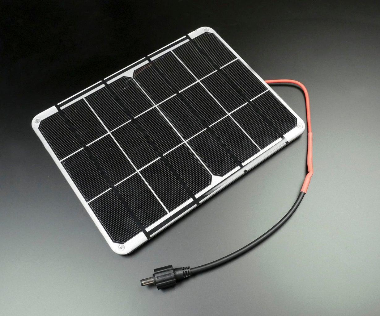 Prepare Solar Panel