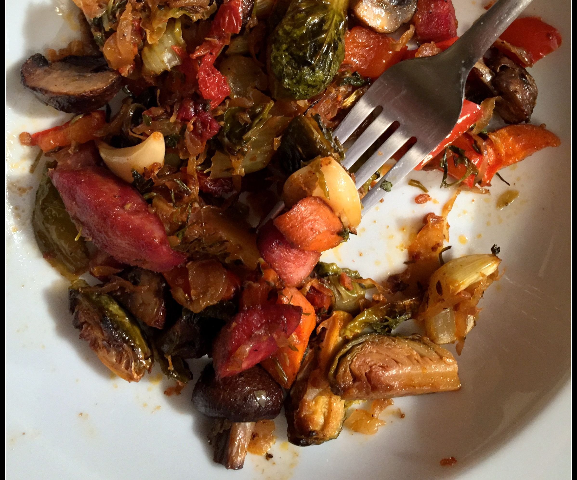 One-Pan Roasted Winter Meal