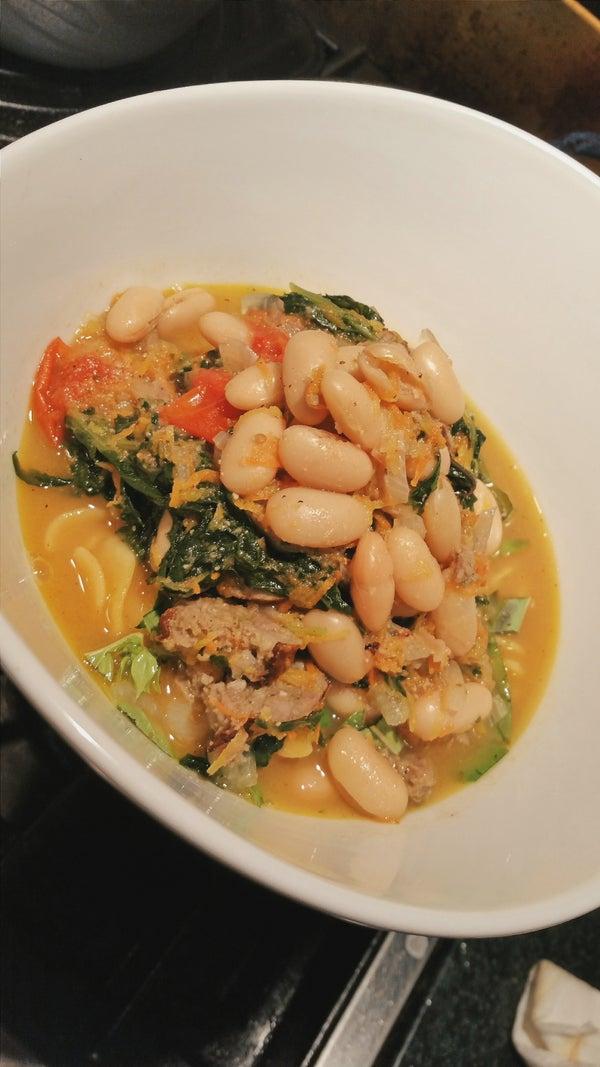One Pot Italian Sausage Stew