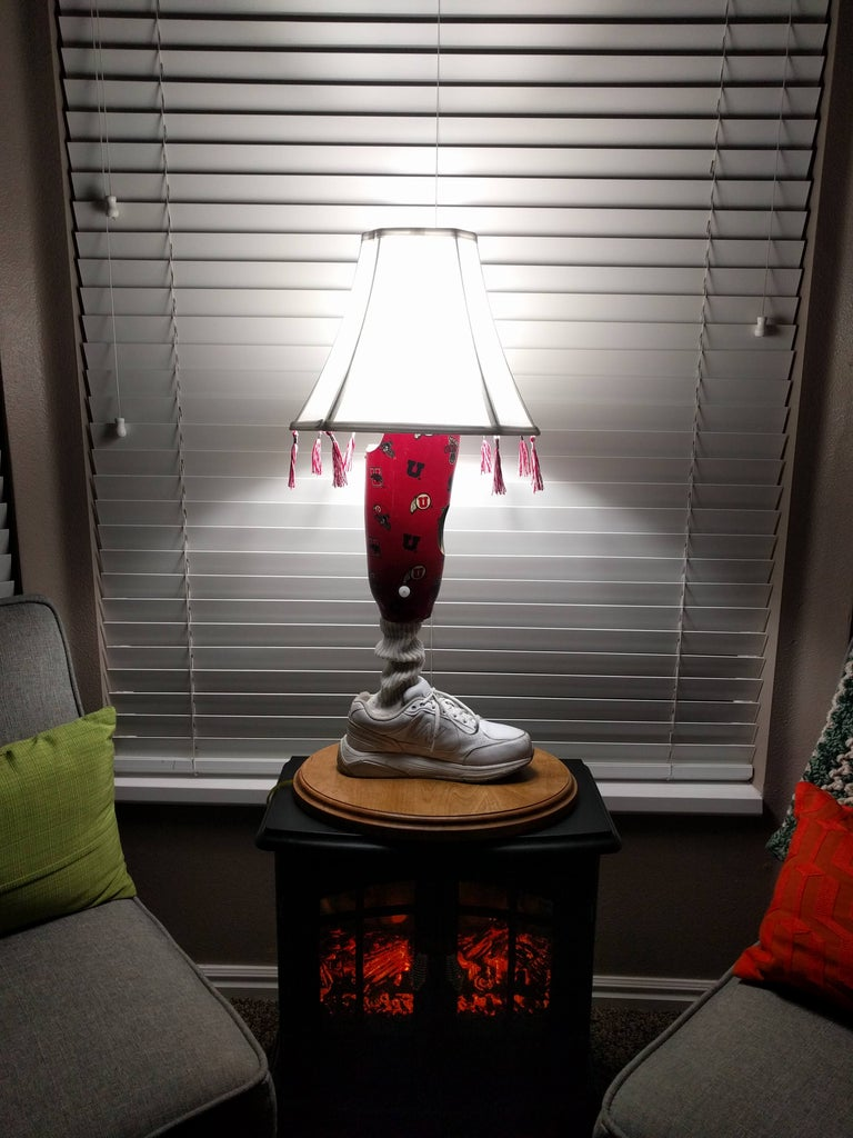 Prosthetic Leg Lamp