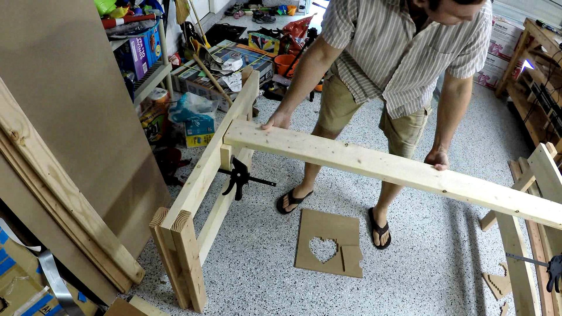Add Middle Support and Back 2x4