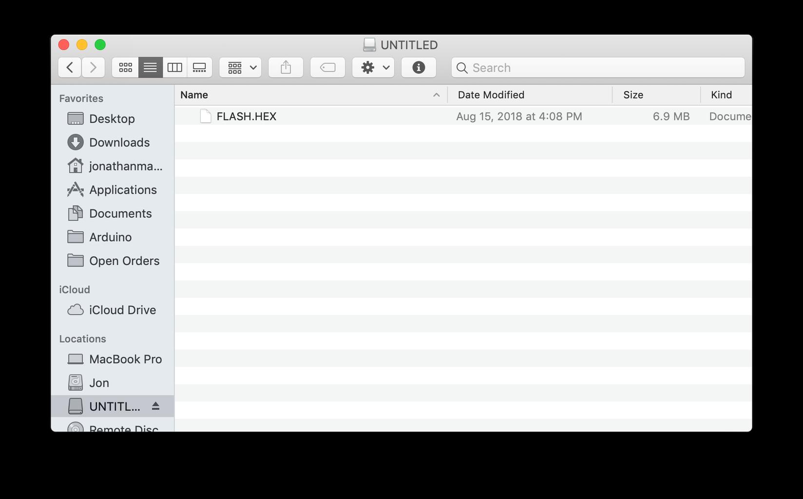 Create the MP3 FAT Hex File