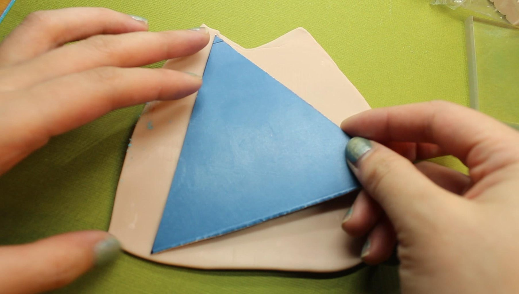 Trinket Dish: Cutting Out the Template