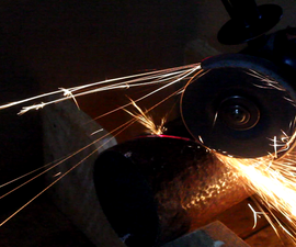 Laser Guide for an Angle Grinder